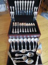 MINT*REED BARTON*FRANCIS I*STERLING SILVER FLATWARE*SET-S-8+SERVERS*PERFECT**55P