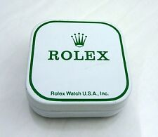 1197 Vintage Rolex Watch Part Tin Box Display Dial Container USA