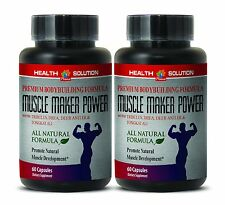 MUSCLE MAKER POWER. Alpha Lipoic Acid - Mass Weight Gainer 2 Bottles
