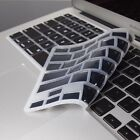 BLACK SILICONE Keyboard Cover Skin for Macbook Air 13