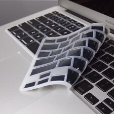 BLACK SILICONE Keyboard Cover Skin for Macbook Air 13""