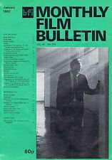 WILLIAM HURT Monthly Film Bulletin Jan 1982