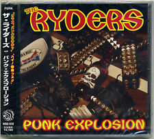 Ryders - Punk Explosion CD Star Club Strummers Wanderers Stalin Cobra Japan Punk