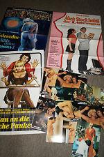 Paukerin  Schweden Stockholm 3 Filmplakate+ 9 AF Erotikfilm 70iger Jahre