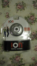 3 NEW AND SEALED ION DIGITAL POCKET SIZE CAMERAS