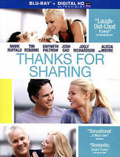 Thanks For Sharing [Blu-ray + Digital HD], New DVD, Mark Ruffalo, Joely Richards