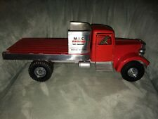 "Vintage 1950's Smith Miller M.I.C. 18"" Mack Stake Lift Truck Ships Free"