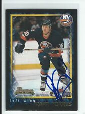 Raffi Torres Signed 2001/02 Bowman Young Stars Card #146