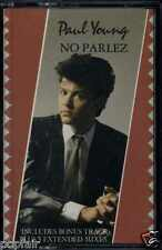 PAUL YOUNG - NO PARLEZ 1988 REISSUE UK CASSETTE CBS ‎– 460909 4 LAURIE LATHAM