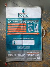 Kovrd Paint Tray Storage Bag Quick Drop Cloth and Tool Carrying Huge Ziplock