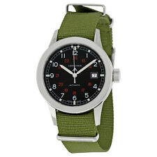 Longines Heritage Military Black Automatic Mens Watch L28324535