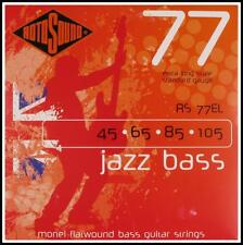 RotoSound Jazz Electric Bass Strings Flatwound Extra Long Scale 45 - 105  RS77EL
