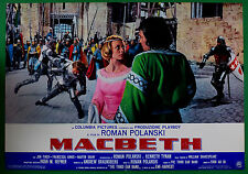 T63 FOTOBUSTA THE TRAGEDY OF MACBETH ROMAN POLANSKI WILLIAM SHAKESPEARE FINCH 4