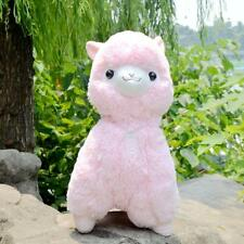 """Fresh"" Alpacasso PINK Alpaca Plush Amuse Arpakasso Fluffy Toy Gift 45cm"