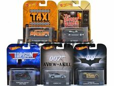 5 Pcs HOT WHEELS 1:64 RETRO ENTERTAINMENT ASSORTMENT J CASE Diecast Car Set