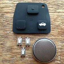 Toyota Rav4 Avensis Camry Corrola Avalon 3 Button Remote Key Fob Case Repair Kit