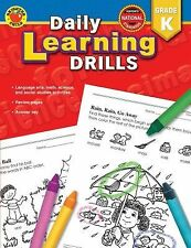 Daily Learning Drills Grade K, Douglas, Vincent, New Books