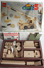VERY RARE VINTAGE 90'S GOULA KITS 5 WOODEN CRANE SET 1994 SPAIN NEW INCOMPLETE