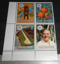 "COOK ISL. 1983 ""COMMONWEALTH DAY"" MNH** BLOCK X 4 (C.4)"