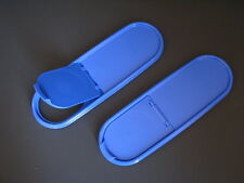 Tupperware Modular Mates Super Oval Pourall Seal Replacement Lid Set 2 Blue New
