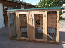 Chicken coop plan with material list, The Mini Coop Plex, 2 coops in one