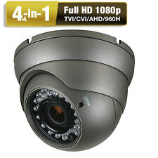 HD-TVI Security Camera 2.6MP 1080P OSD Menu 2.8-12mm Varifocal Vandal Proof IP66