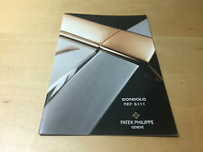 Booklet PATEK PHILIPPE New Model 2005 - Gondolo Ref. 5111 - All Languages