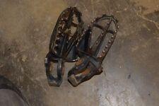 K1-2 BOTH FOOT REST HONDA CR125 CR 125 R DIRT BIKE FREE SH