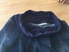 Jojo Maman Bebe Maternity Denim Skirt, size 10