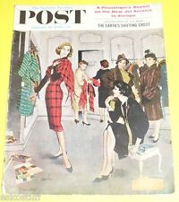 Post Magazine 01/10/1959 Trying On Clothes cover Nice Picture! See!