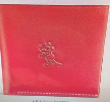 Disney X COACH MICKEY Mouse Double billfold wallet RED with Gift Box Limited