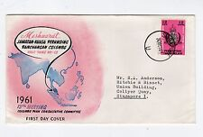 SINGAPORE: 1961 Colombo Plan Consultative Committee First Day cover (C25213)