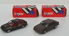 RARE CORGI SWANSEA:  FORD SIERRA AND VOLVO MODELS - LOVELY CONDITION!  BELOW: