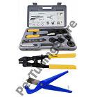 PEX Crimp Tool Kit w/ Decrimper and Cutter -all sizes 1/2