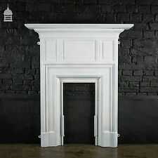 Tall Edwardian Cast Iron Fire Place Surround