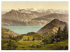 Scheidegg Rigi A4 Photo Print
