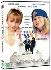 It Takes Two (1995,Kirstie Alley, Mary-Kate Olsen) DVD NEW