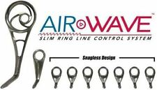Microwave Airwave Spinning Guide Set-Hard Chrome- 9 Guides - With Duralite Tip