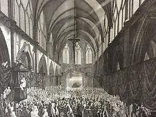 Révolution française Service Funèbre Bastille Prieur eau-forte 1804 Berthault