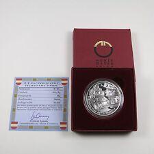 Österreich 20 Euro 2003 Silber PP Nachkriegszeit - OS (lesen)