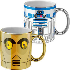 NEW Star Wars Movie R2D2 and CP30 Coffee Mug Set of 2 Christmas Gift STW020005