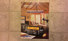 Kenwood TS-480S/AT Promotional Slick 8 Pages Free Ship US