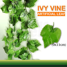 2.4m Artificial Leaf Ivy Vine Plant Fake Foliage Wedding Party Home Decoration