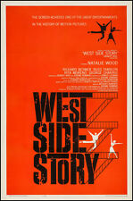 """WEST SIDE STORY"" ORIGINAL ONE SHEET MOVIE POSTER"