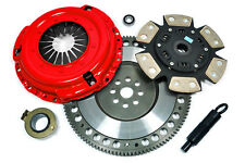 KUPP RACING STAGE 3 CLUTCH KIT & 8.6 LBS FLYWHEEL for 89-91 HONDA CIVIC CRX
