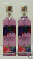 2 Bath & Body Works Holiday BOUQUET Hand Soap nourishing olive OIL 15.5oz each