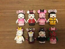 Disney Vinylmation Cutesters en Vogue FULL SET WITH CHASER!