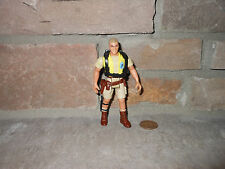 Jurassic Park 1993 Robert Muldoon figure with backpack