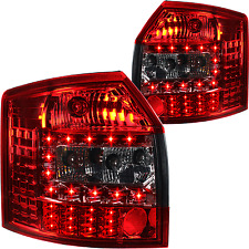 LED rear lights Set rot smoke black for Audi A4 Avant Kombi Typ 8E B6 00-04