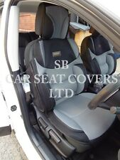 TO FIT A SKODA OCTAVIA CAR, SEAT COVERS, BO 3 ROSSINI MESH SPORTS GREY/BLACK